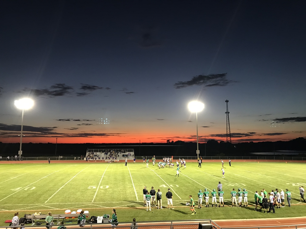 Jefferson County North football field during game.