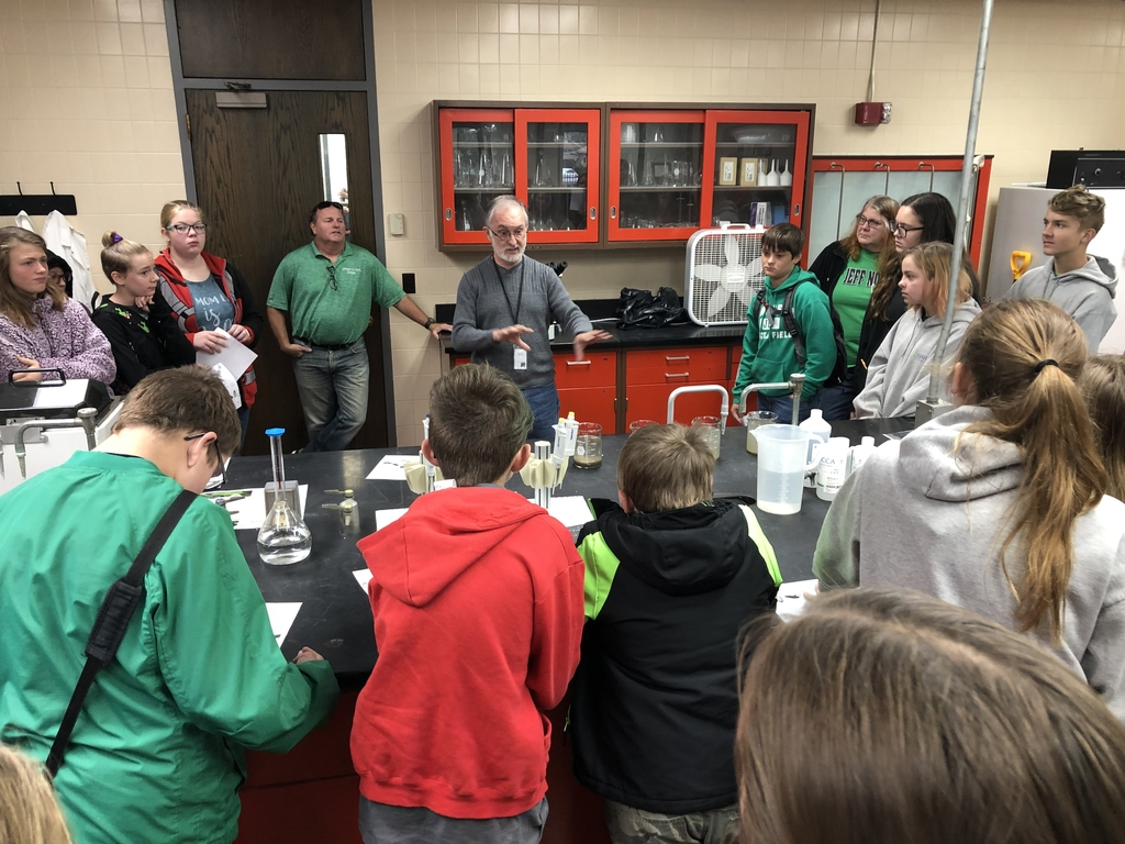 8th grade Science field trip to Waste Water Treatment plant