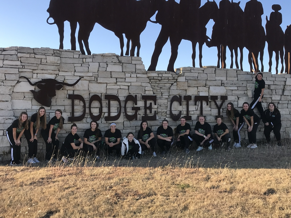 Your Lady Chargers made it to Dodge City!